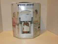 Black-and-Decker-Automatic-Jar-Opender-Lids-Off-model-JW200-New