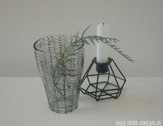 SARAS Dekolust: DIY - Glasteelichthalter