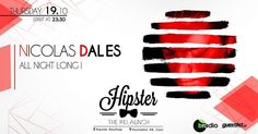 Radio Show... Done! Let's start dancing now!!! Hipster presents: Nicolas Dales all night long! - Πέμπτη 19 Οκτ.  New Bar new concept uplifted mood and FRESH MUSIC! Αυτα ειναι τα συστατικά για ένα καινούργιο μουσικό cocktail!  Ελάτε να το πιούμε παρέα αυτή την Πέμπτη Στο Hipster.. Από τις 23:30  http://ift.tt/2yAn5QC  #nicolasdales #athens #gazi #hipster #cocktails