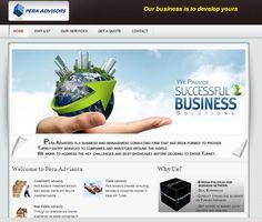 Pera Advisor  Web tasarım