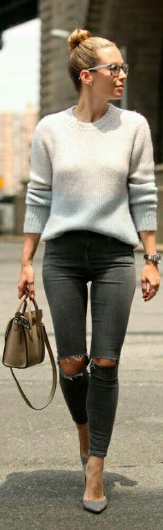 Orley Knit Sweater / Fashion by Brooklyn Blonde