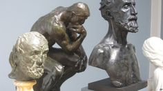 Denmark police hunt pair who stole Rodin bust - BBC News