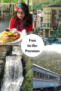Fun in the Poconos: Visiting Bushkill Falls, Milford, and Jim Thorpe, PA | The Mama Maven Blog
