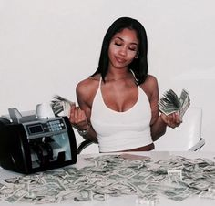 Need Money Wallpaper - Money Quotes Not About - Money Goals Time Management - Money Tattoo Desenho - Money Tree Lottery Tickets Badass Aesthetic, Boujee Aesthetic, Black Girl Aesthetic, Aesthetic Collage, Aesthetic Pictures, Saweetie Icy Grl, Icy Girl, Estilo Hip Hop, Fille Gangsta