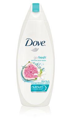 Dove Body Wash, Blue Fig and Orange Blossom