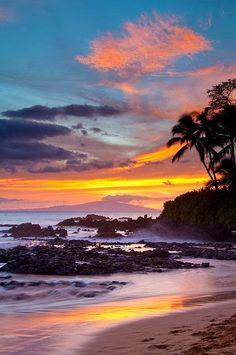 Sunset - Makena Cove, Maui, Hawaii