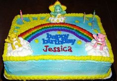 Care Bear Birthday Cake — Birthday Cakes