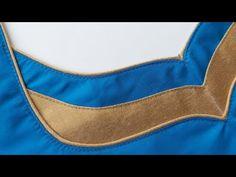 Patch Work Blouse Designs, Best Blouse Designs, Simple Blouse Designs, Blouse Back Neck Designs, Neckline Designs, Dress Designs, Churidar Neck Designs, Kurta Neck Design, Blouse Neck Models