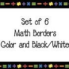 You are downloading a set of 6 PDF borders (word documents also included).  - 2 color (portrait and landscape)  - 2 black/white (portrait and landsca...