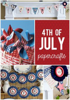 4th of July Paper Craft Ideas!