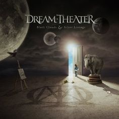 Dream Theater [Black Clouds & Silver Linings]. 2009.  Artwork : Hugh Syme