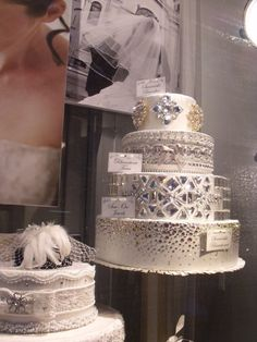honey living: four tiers of sparkle