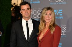 Justin and Jen - 2015 Critic's Choice Awards