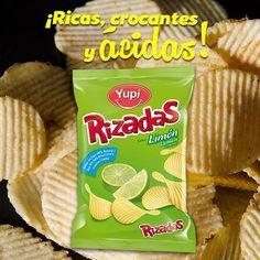 Siente el #crunch con más sabor en tus #Rizadas Limón.
