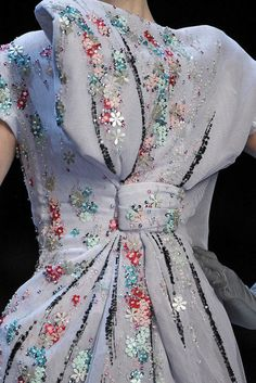 Christian Dior Spring 2011 Couture Detail - Christian Dior Haute Couture Collection