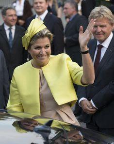 Queen Maxima Photos - Queen Maxima Opens Seminar in Rotterdam - Zimbio