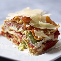 Découvrez la recette Lasagnes aux trois poivrons sur cuisineactuelle.fr.