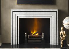 The Ealing (Contemporary Designer Fireplace) by Eric Cohler for Chesney's