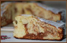 Recette de Gâteau au yaourt marbré pommes-chocolat : la recette facile