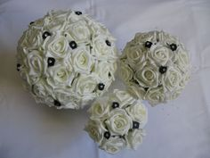 black and white colours only we do packages for the whole wedding party .
