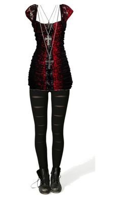 """""""Untitled #545"""" by bvb3666 ❤ liked on Polyvore featuring Boohoo and GUESS Bad Girl Style, Mesh Leggings, Leggings Are Not Pants, Emo Outfits, School Outfits, Girl Outfits, Cute Outfits, Casual Goth, Kinds Of Clothes"""
