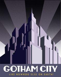 #Gotham City