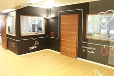 Our Experience Center in Zurich! Experience Center, Zurich, Offices, Basketball Court, Bureaus, The Office, Corporate Offices