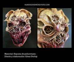 #Dummie Material: Espuma de Poliuretano. Diseño y elaboración: César Perlop  #Sculpey #Monster #CesarPerlop