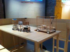 """""""La machine à vapeur """" - Exposition """"ma cantine en ville"""" Cité de l'architecture 2013 - un des projets lauréats du concours Minimousse. (photo B. LE STRAT)"""
