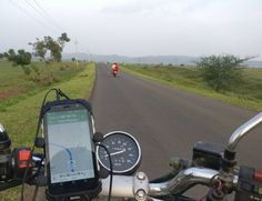 900 Kms of ride on day 8  Vadodara to Nagpur.  Now 2500 KMs done !  #DigitalYatra Powered by #Aermoo  #Highwaymonks  #Soloriding #Biketrip #India #travel #Highways #indianroads #roads #travelphotography