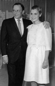Frank Sinatra And Mia Farrow//