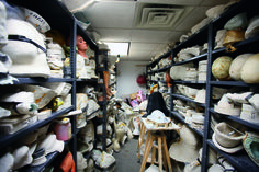 Live from New York - The storage room in the makeup lab, 2009
