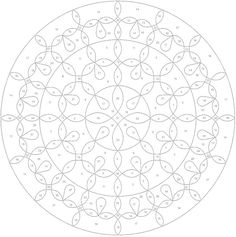 Creative Haven Mandalas Color by Number Coloring Book | Dover ...