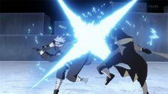 Obito Uchiha vs Hatake Kakashi.