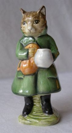 a Royal Doulton, Beatrix Potter figurine / I have most of the figurines. Began collecting them when I was 13 with my babysitting earnings.