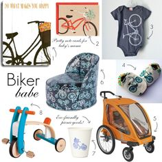 Biker babe: Take a ride or look cool trying with these awesome bicycle inspired picks.
