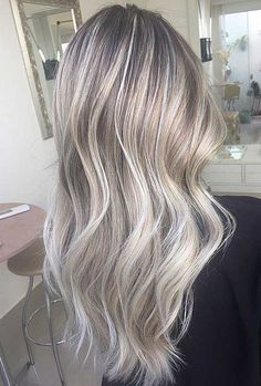 grey hair highlights - Google-søgning