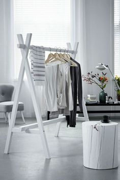 Clothing Rack White