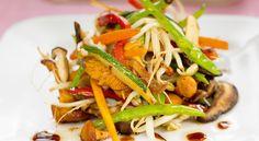 Astuces de Cyril Lignac : légumes sautés à l'orientale