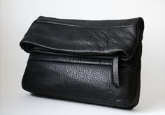 OPELLE Leather Clutch