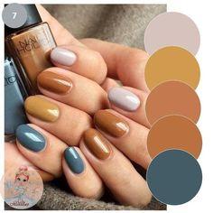 shiny nail designs for fall 1 Dream Nails, Love Nails, Pretty Nails, Minimalist Nails, Nail Manicure, Diy Nails, Fall Nail Designs, Nagel Gel, Artificial Nails