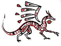 north american dragon myths
