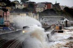Railway. Dawlish, Devon