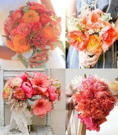 BonnieProjects: Coral Bouquet Inspiration