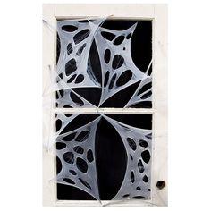 4 Piece Creepy Stretchy Spider Webs