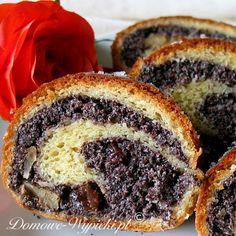 Polish Desserts, Polish Recipes, Polish Cookies, Unique Desserts, Christmas Baking, No Bake Cake, Strudel, Baking Recipes, Food And Drink
