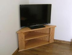 corner tv stand for living room - Corner Tv Stands Wooden