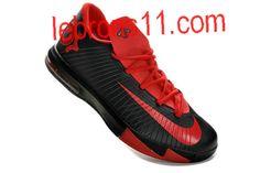 sale retailer 49b15 d4f29 Kevin Durant 6 Black Red Shoes. Nike Kd ViKevin ...