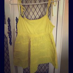 Spaghetti strap by Victoria Secrets Cute spagetti strap by moda international/VS Victoria's Secret Tops Camisoles