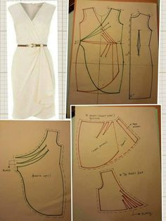 Amazing Sewing Patterns Clone Your Clothes Ideas. Enchanting Sewing Patterns Clone Your Clothes Ideas. Dress Sewing Patterns, Clothing Patterns, Fashion Sewing, Diy Fashion, Sewing Clothes, Diy Clothes, Diy Vetement, Make Your Own Clothes, Sewing Techniques